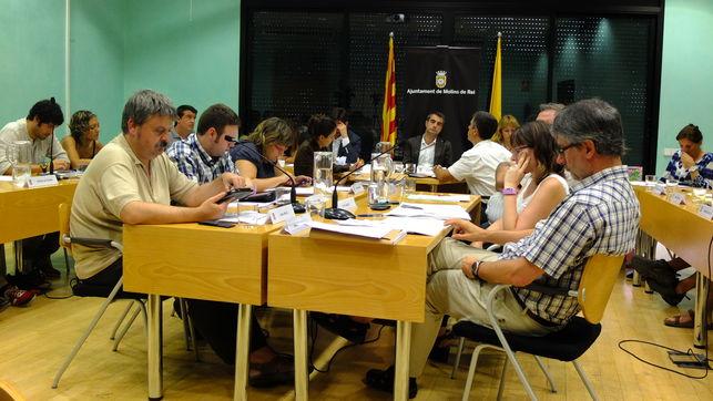 """El Ayuntamiento de Molins de Rei ha declarado """"ilegítima"""" parte de su deuda"""