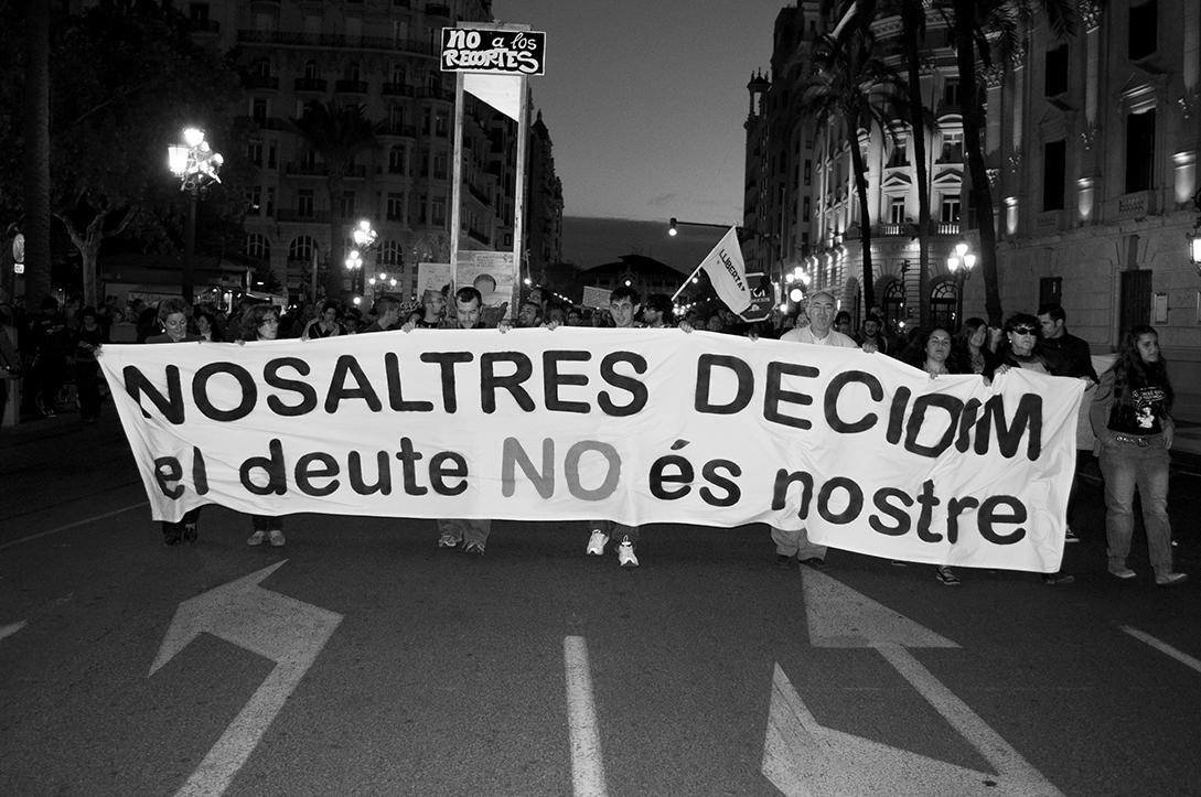 2012-10-27 - 02 Valencia Manifestación